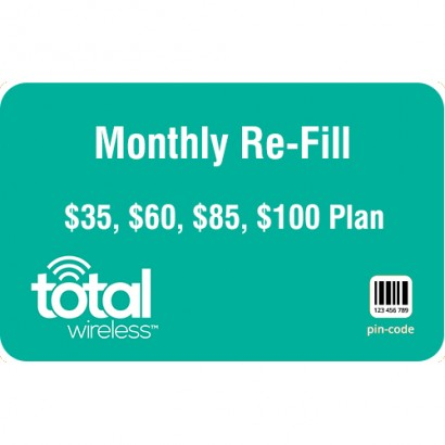 Total Wireless Monthly Refill